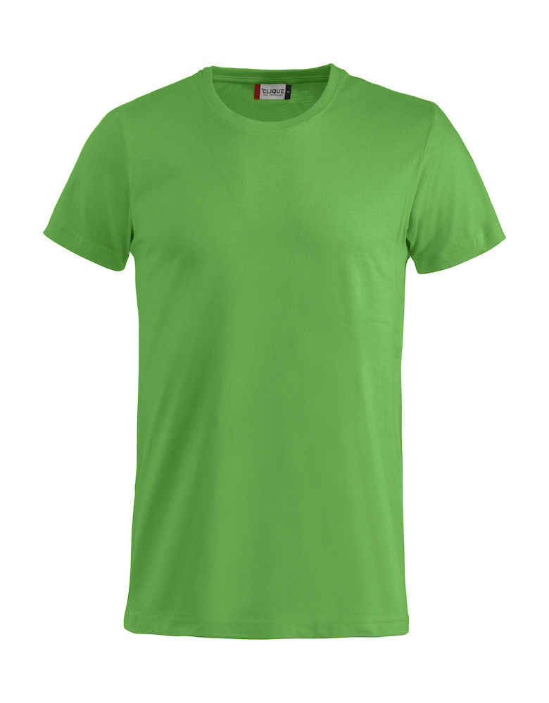 Basic T-shirt appelgroen