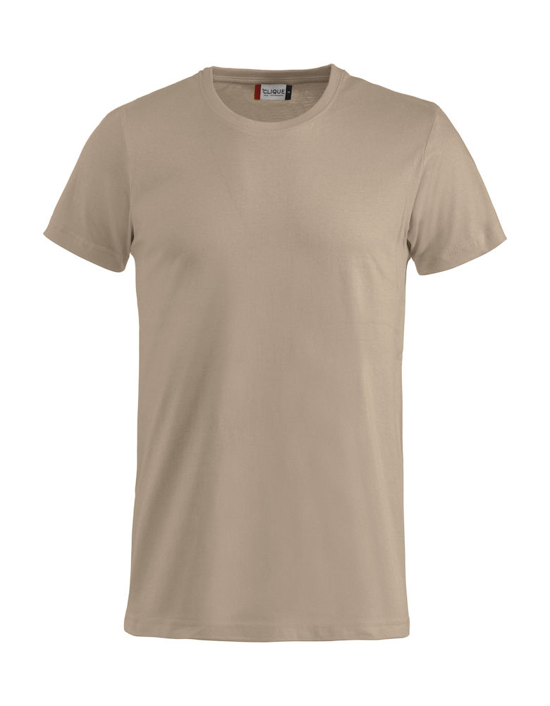 Basic T-shirt caffe latte