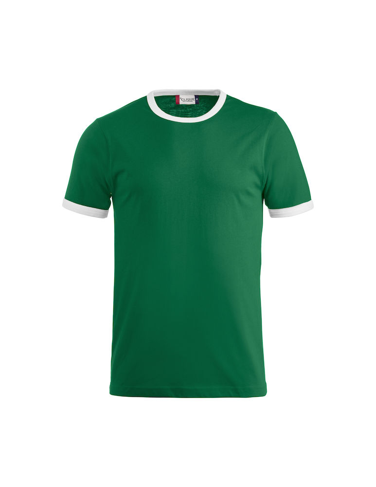 Classic Nome kinder t-shirt groen-wit