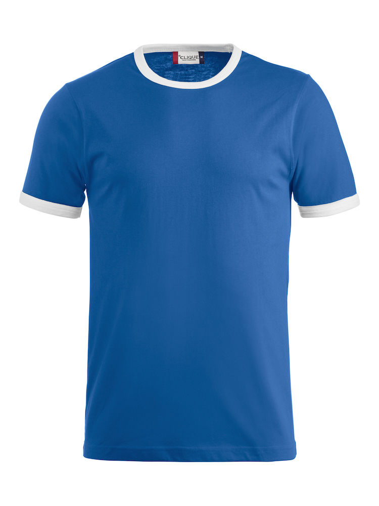 Classic Nome T-shirt blauw/wit