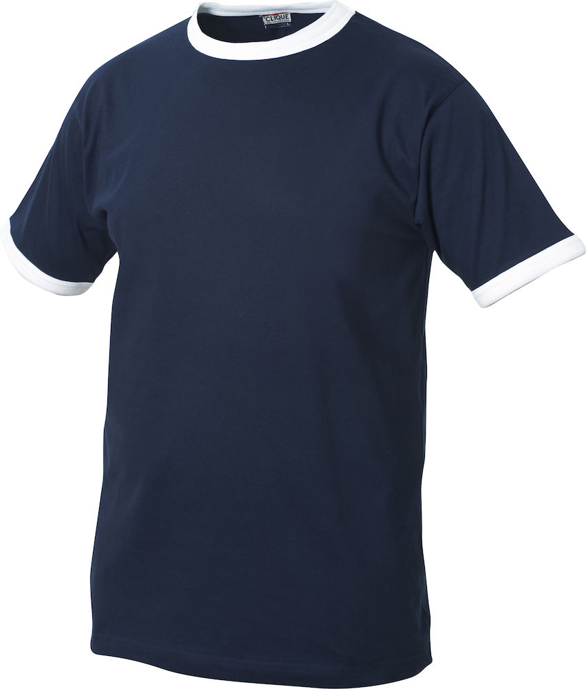 Classic Nome kinder t-shirt groen-wit navy-wit
