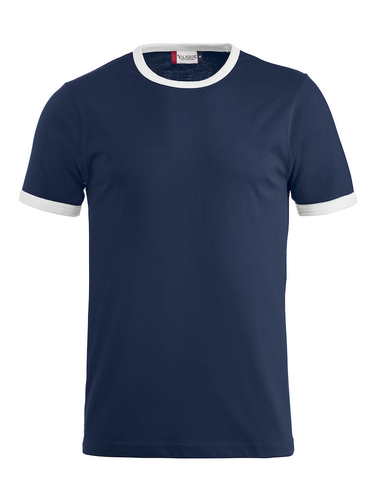 Classic Nome T-shirt navy/wit