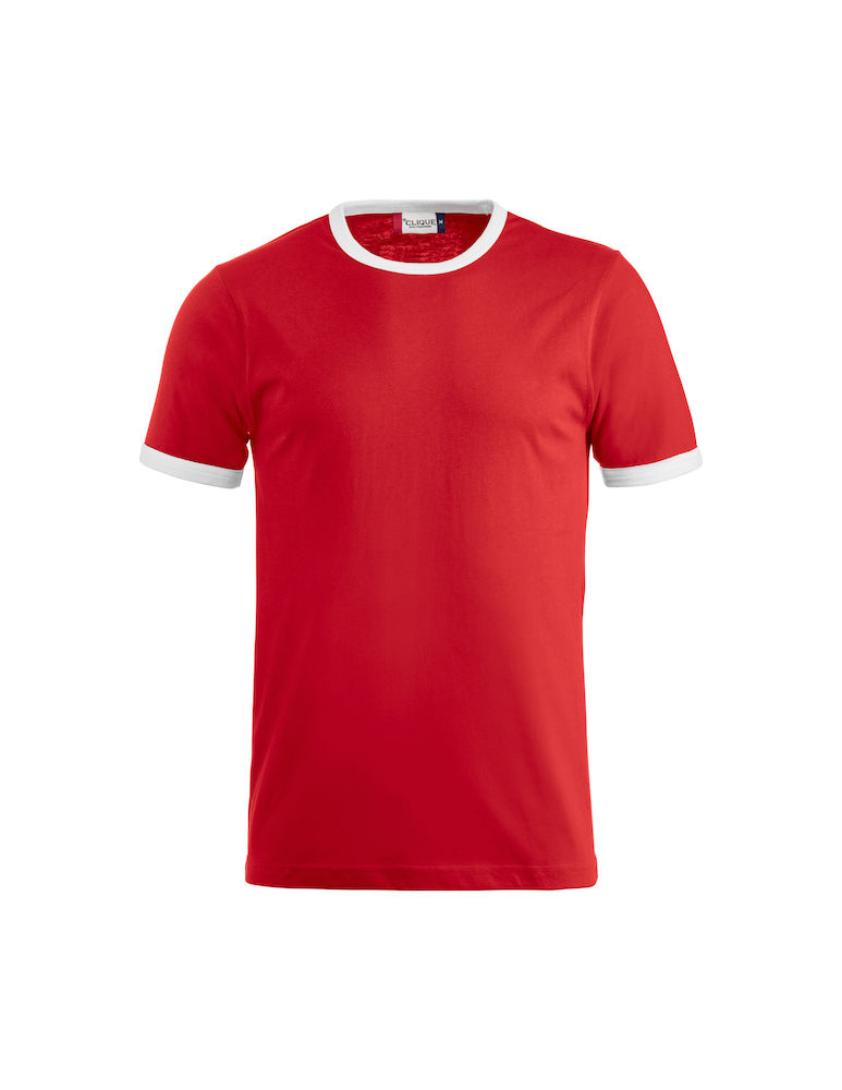 Classic Nome kinder t-shirt rood-wit