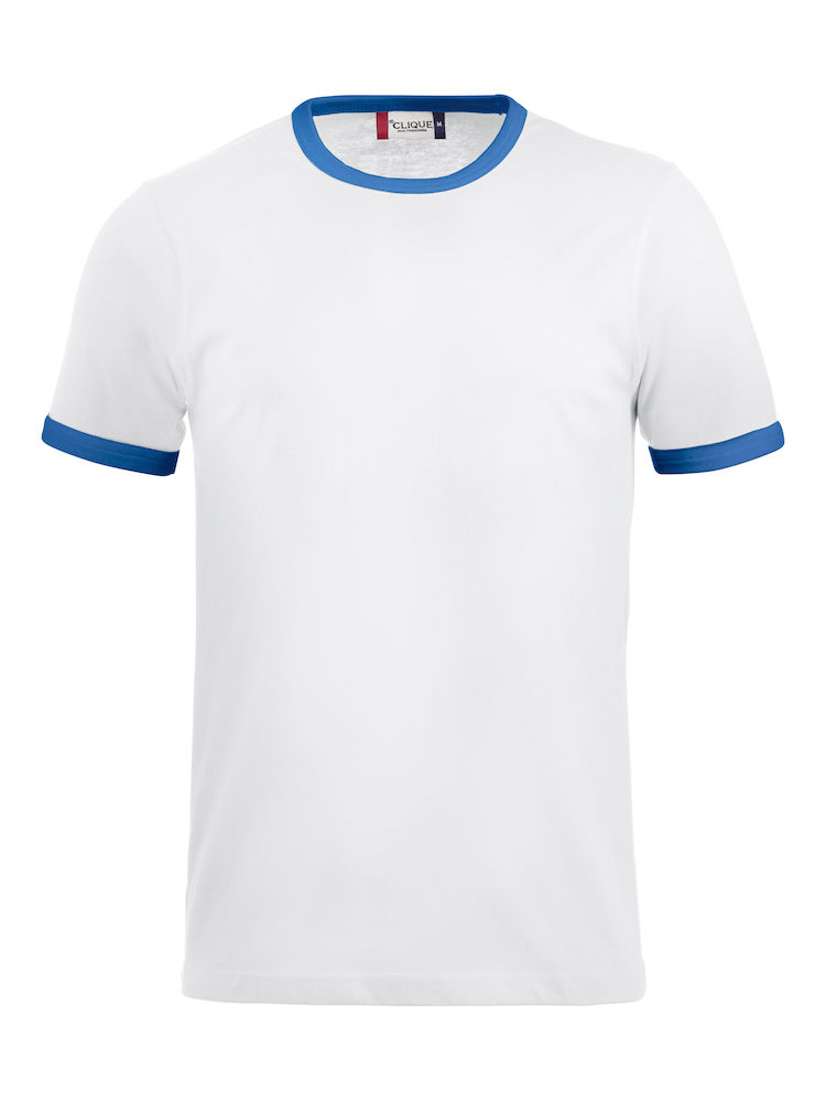 Classic Nome T-shirt wit/blauw